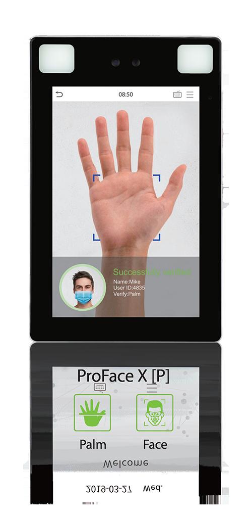 Biometric Authentication | Time Data Sequel | Pro Face X palm